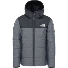 The North Face Reversible Perrito Jacket Boys TNF medium grey heather